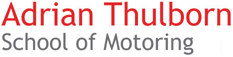 Logo Adrian Thulborn School of Motoring
